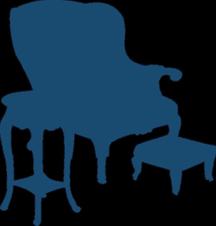 kostenlose vektorgrafik m bel sessel stuhl silhouette. Black Bedroom Furniture Sets. Home Design Ideas