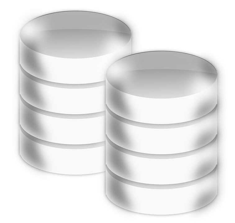 Free Vector Graphic Database Cylinder 3d Circular