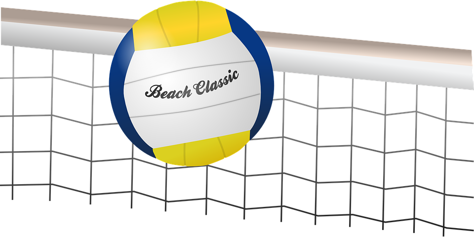 Beach volleyball clipart png