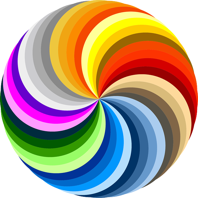 swirl colorful rainbow colors 183 free vector graphic on pixabay