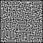 labyrinth, maze, meander