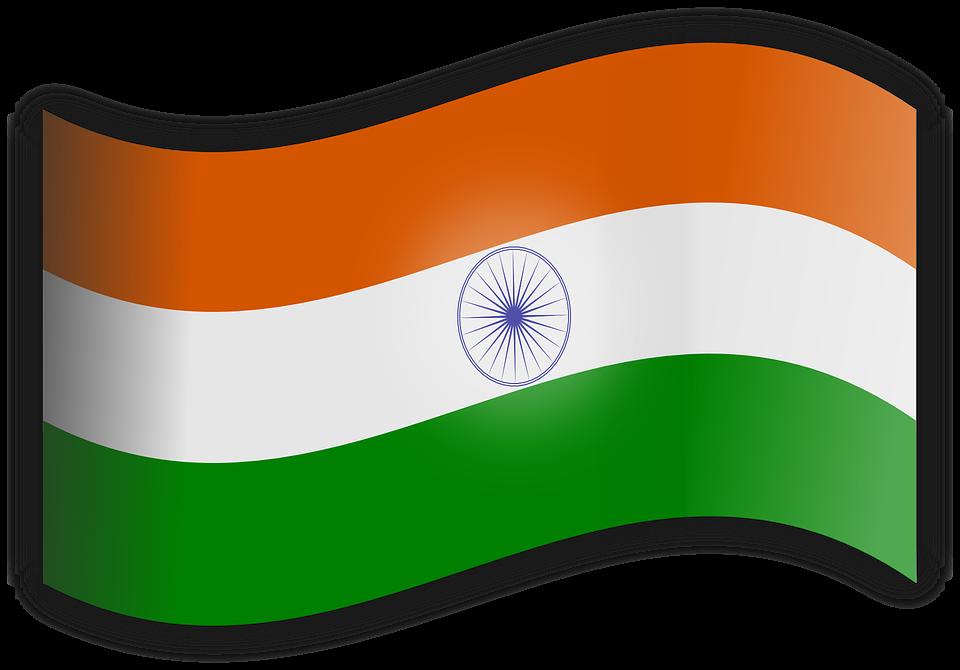 Indien Flagge Tricolor Kostenlose Vektorgrafik Auf Pixabay
