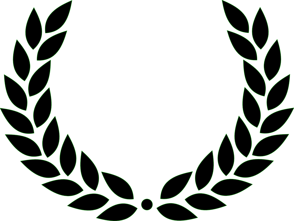 Laurel Wreath Roman Victory Free Vector Graphic On Pixabay