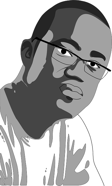 Negro Man Spectacles Free Vector Graphic On Pixabay