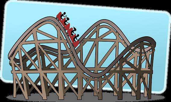 Rollercoaster Achterbahn Big Dipper Switch