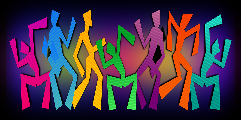 Dansen, Viering, Vieren, Disco, Abstract, Kleurrijke
