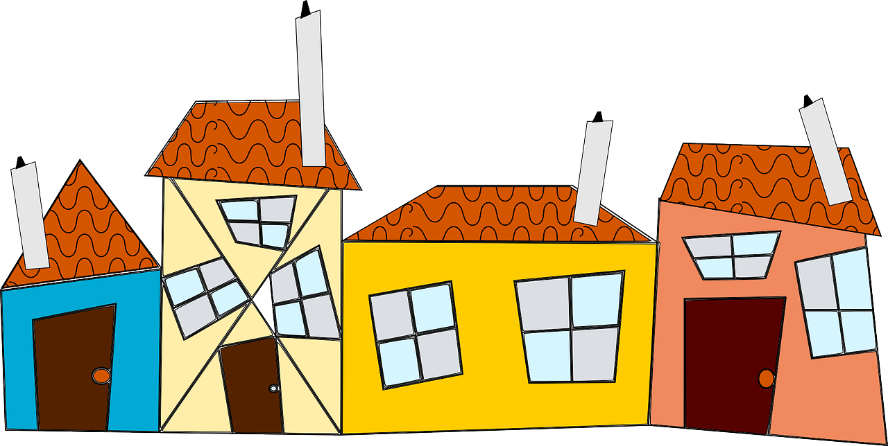 Детские картинки крыша дома