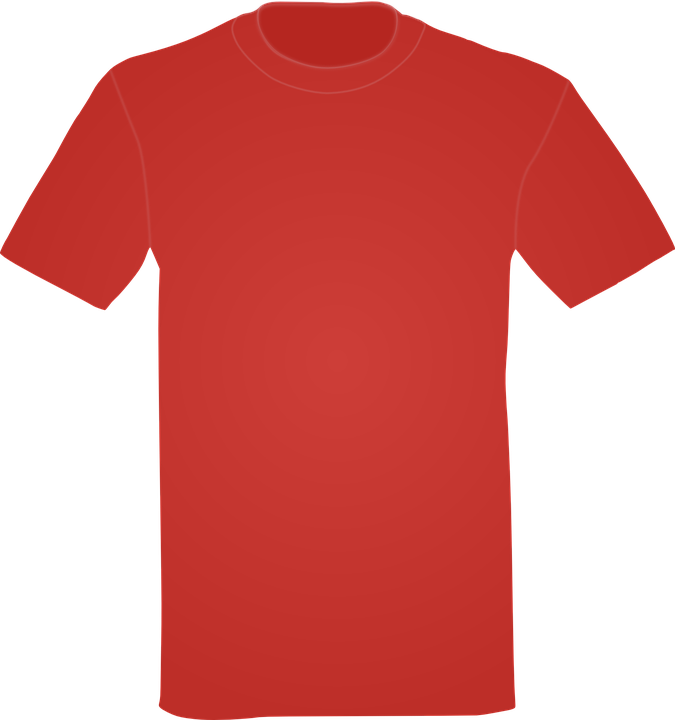 4ff6a0348 T-Shirt Shirt Red - Free vector graphic on Pixabay