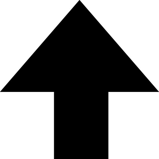 Free vector graphic: Arrow, Up, Upload, Black - Free Image ...
