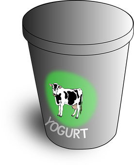 Yoghurt Yogurt Yoghourt Container Cow Dair