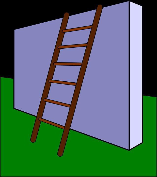 kostenlose vektorgrafik hindernis leiter wand kostenloses bild auf pixabay 156153. Black Bedroom Furniture Sets. Home Design Ideas