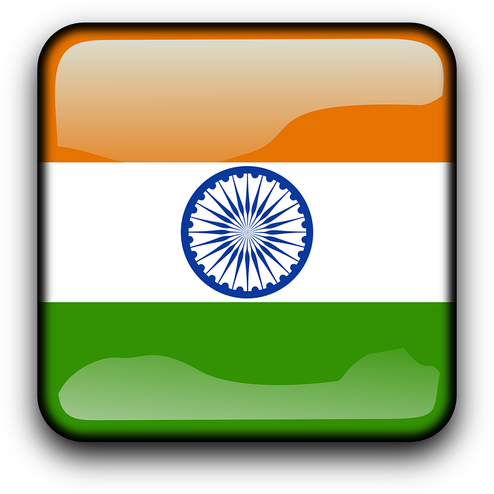 India Flag Country Nationality