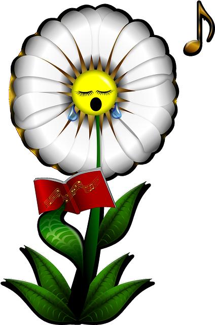 Marguerite Fleur Chant · Images vectorielles gratuites sur ...