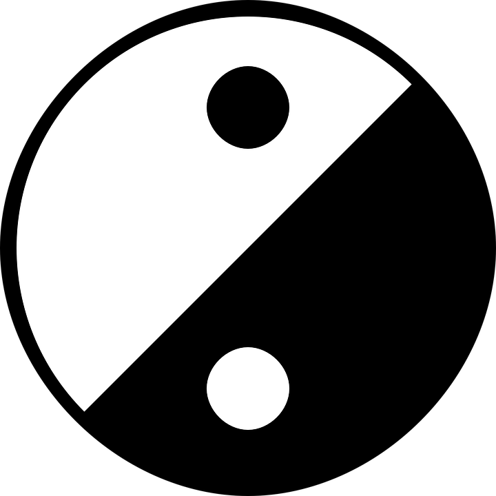 Yinyang Yin And Yang Free Vector Graphic On Pixabay