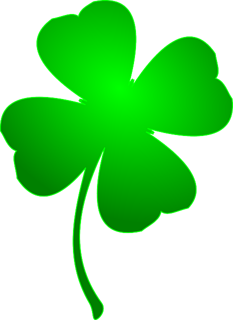 Clover Four-Leaf Grass · Free Vector Graphic On Pixabay