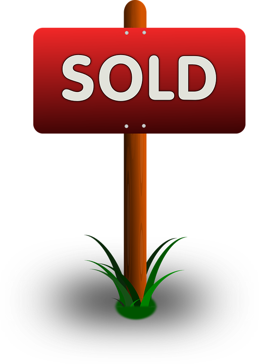 free vector graphic realtor sign sold real estate