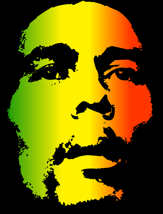 Free Vector Graphic Bob Marley Reggae Face Man Free