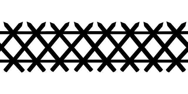 Fence Railings Border 183 Free Vector Graphic On Pixabay