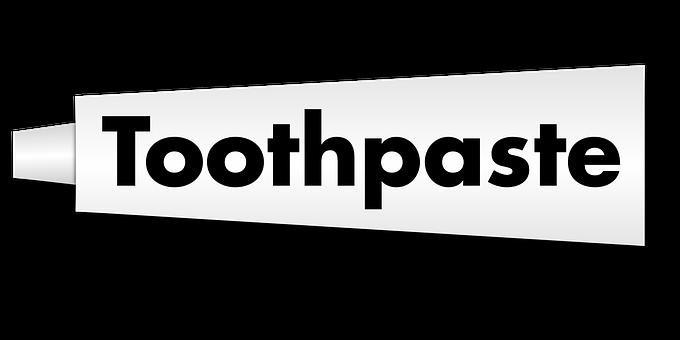 Toothpaste Tube Dental Hygiene Brushing Te