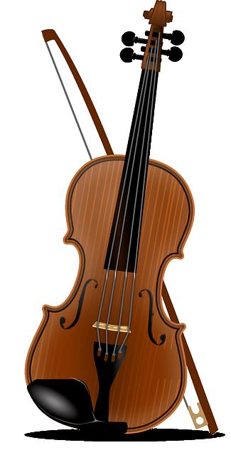 Vector gratis viol n cl sico m sica pera imagen - Immagini violino a colori ...