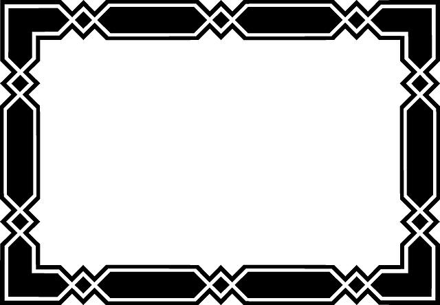 angular black border  u00b7 free vector graphic on pixabay