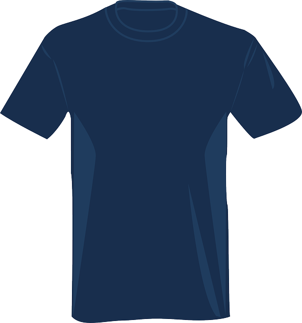 Navy blue tshirt template for Blue t shirt template