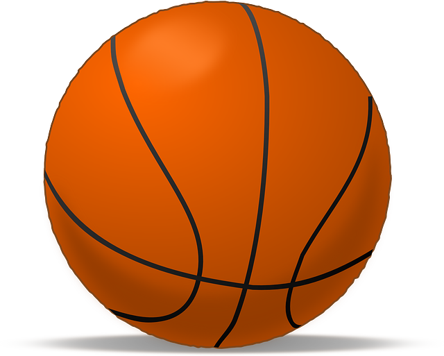Free Vector Graphic: Ball, Round, Basketball, Equipment