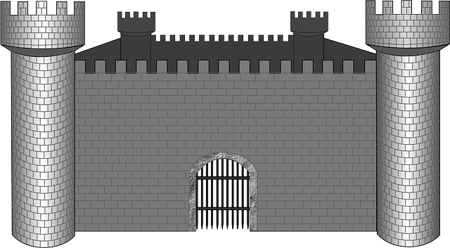 Castle Animal Medieval 183 Free Vector Graphic On Pixabay