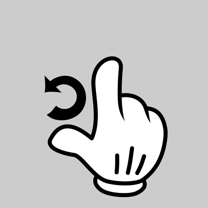 手 指 ジェスチャ Pixabayの無料ベクター素材