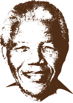 Man, Person, Face, Black, Mandela
