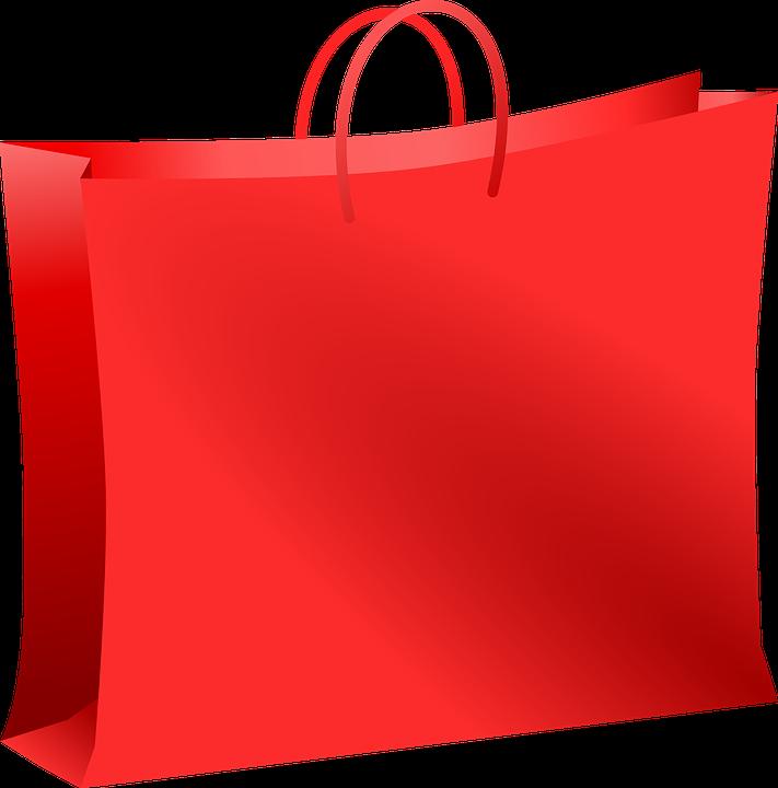 Saco Centro Comercial Red Gráfico Vetorial Grátis No Pixabay
