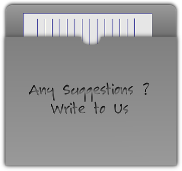A lined letter writing paper sticking out of an envelope with the words