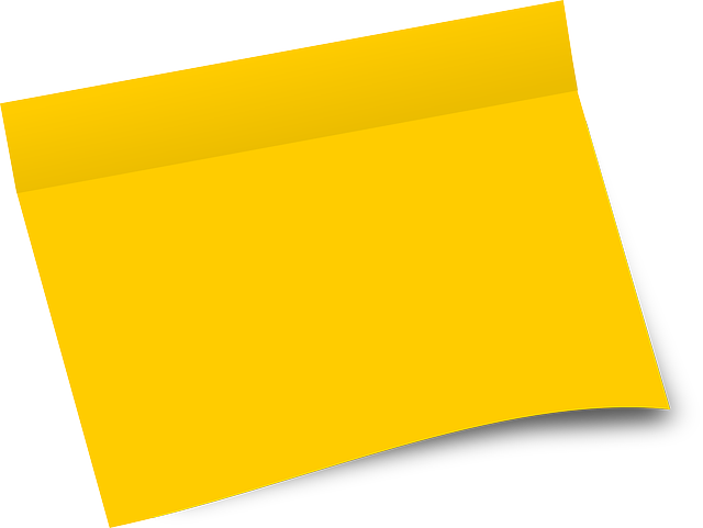 Free Vector Graphic Paper Post It Office Sheet Free