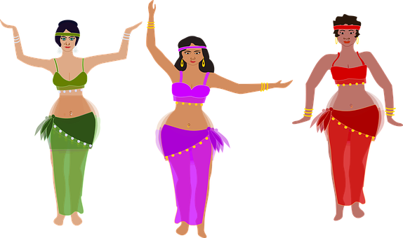 Dancing, Women, Oriental, Belly Dance