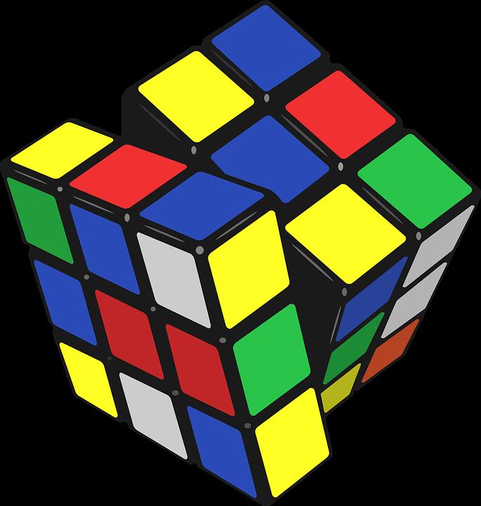 Image Vectorielle Gratuite Cube De Rubik Cube Puzzle