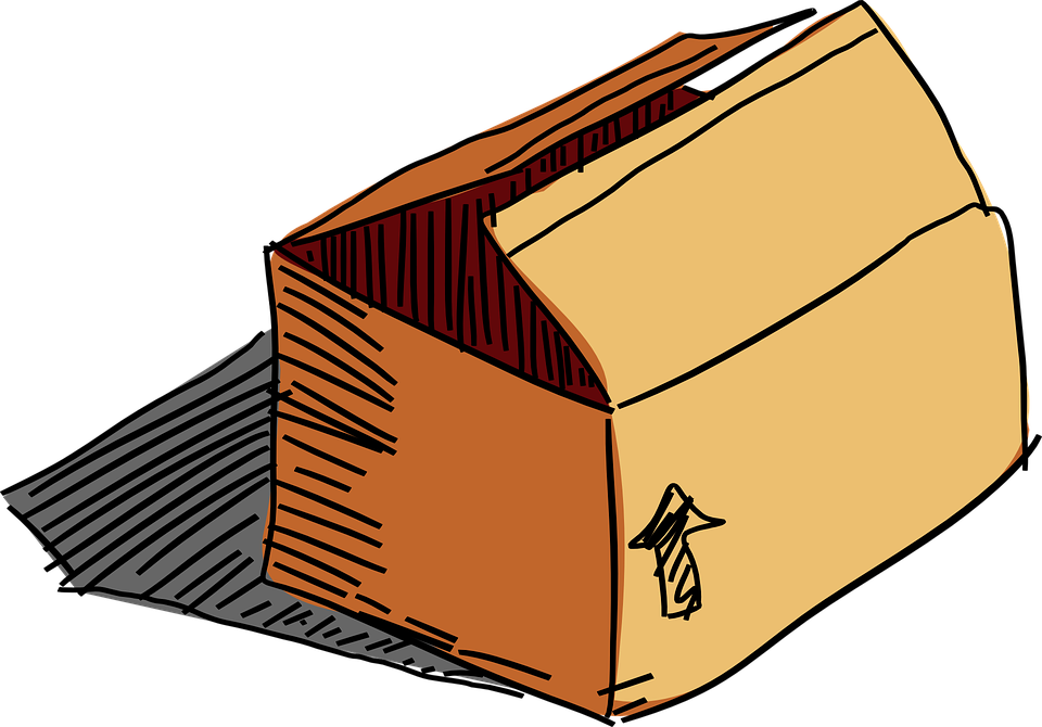 Box Kartón Balíček - Vektorová grafika zdarma na Pixabay