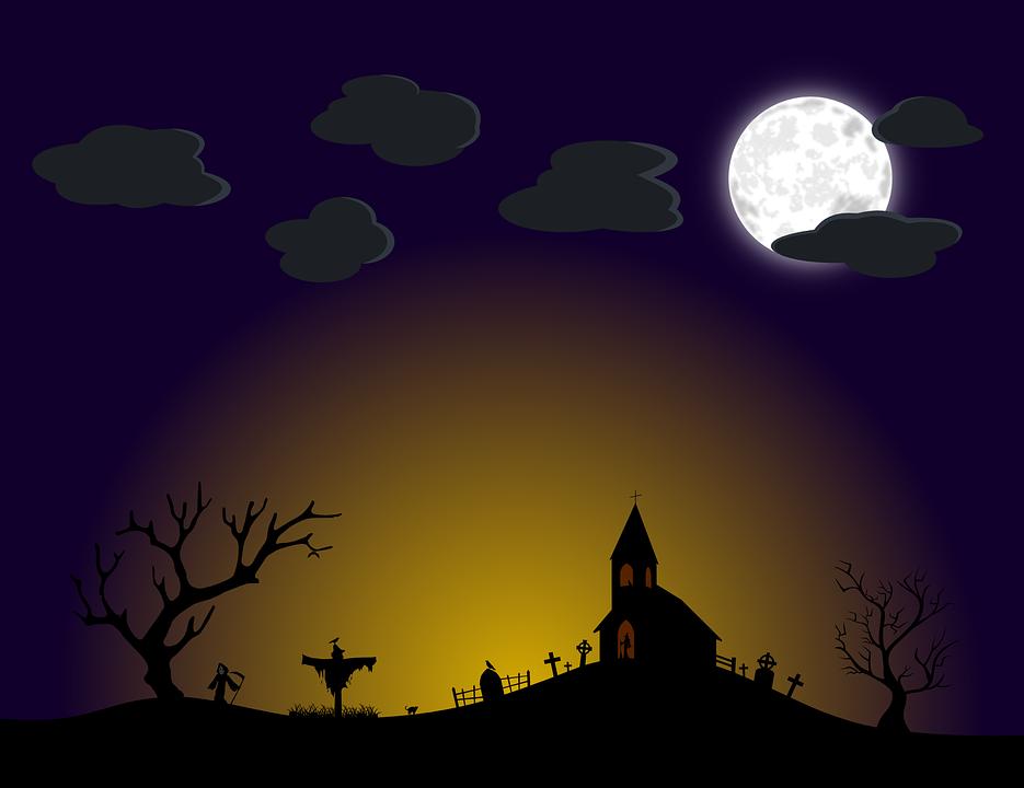 Halloween Kruis.Kerk Wolk Kruis Gratis Vectorafbeelding Op Pixabay