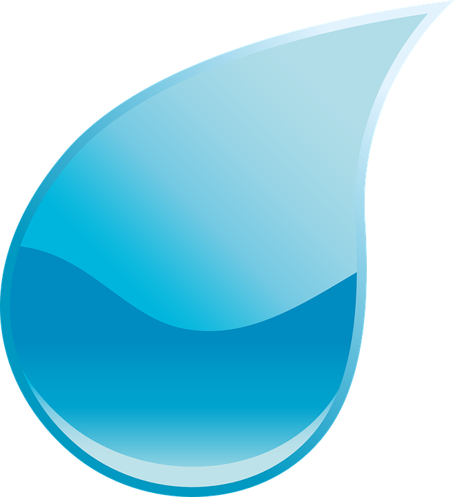Drop, Water, Drop Of Water, Rain, Water Drop, Blue