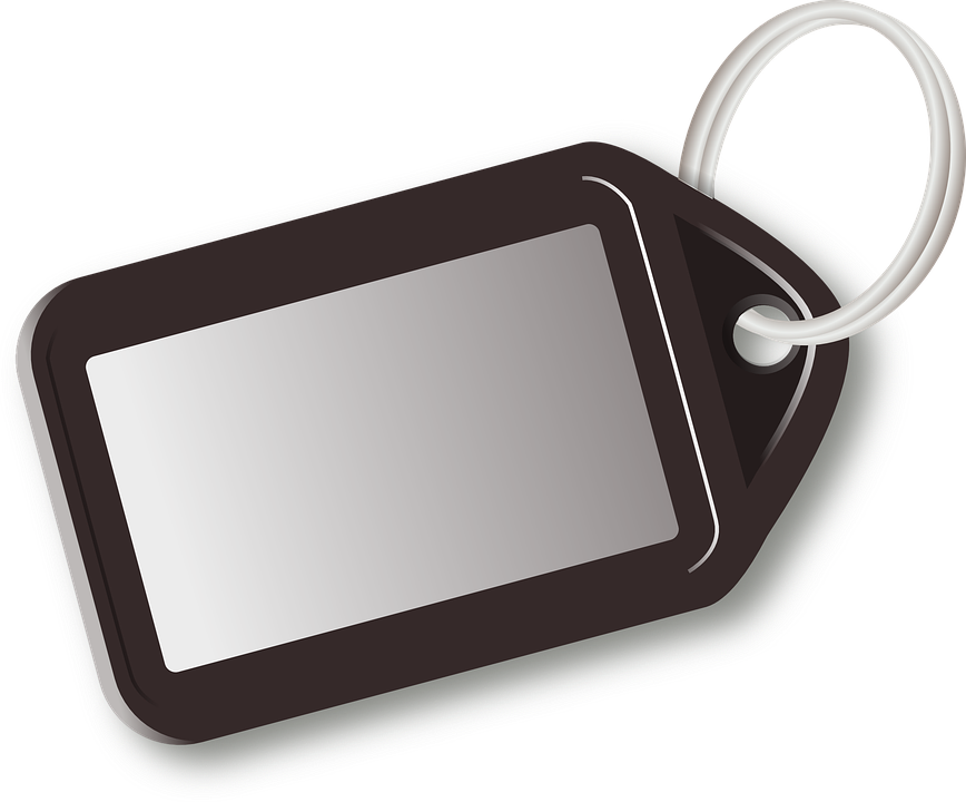 Llavero clave etiquetas gr ficos vectoriales gratis en - Porte cle photo plastique transparent ...