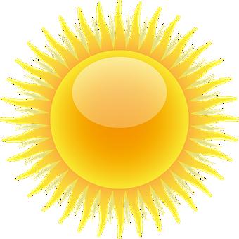 Sun, Weather, Weather Forecast, Sunny
