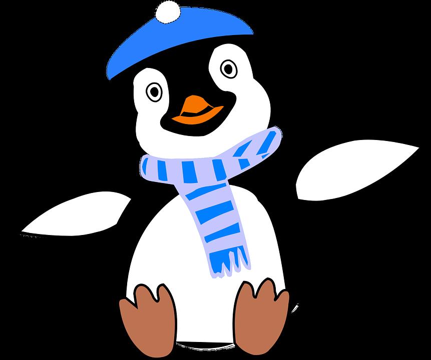 Pinguin Kälte Winter · Kostenlose Vektorgrafik auf Pixabay