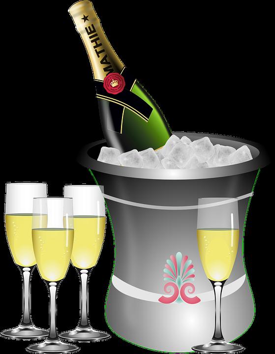 jahrestag sekt flasche kostenlose vektorgrafik auf pixabay. Black Bedroom Furniture Sets. Home Design Ideas