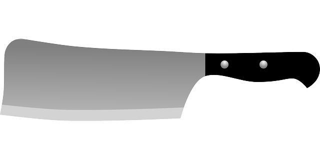 Knife Cutter Iron 183 Free Vector Graphic On Pixabay