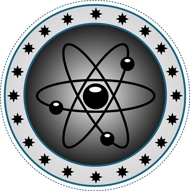 Эмблема атомов картинки