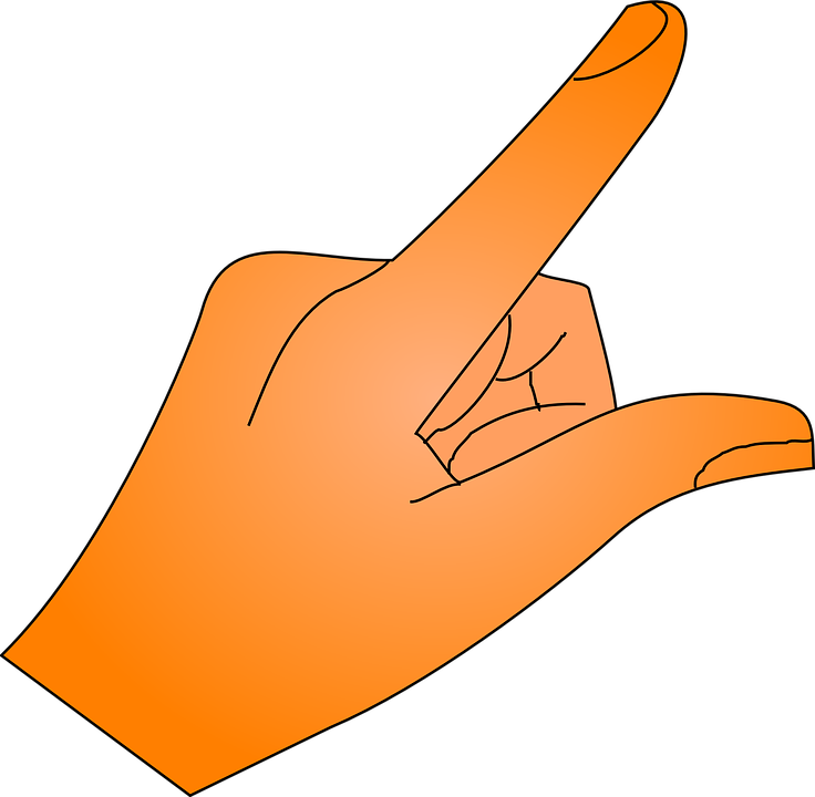 Finger, Pointing - Free images on Pixabay