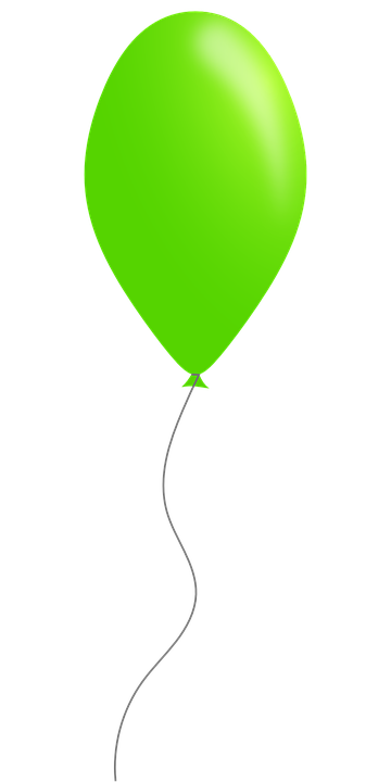 Free Vector Graphic Balloon Party Green Free Image On