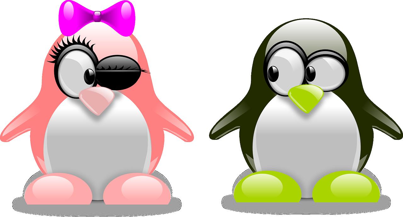 Картинки, рисунки смешных пингвинов