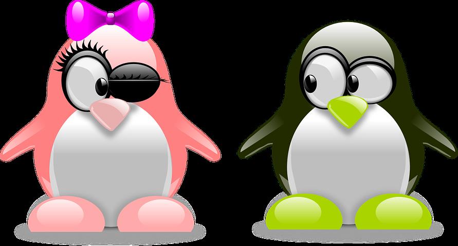 Прикольные пингвины рисунки