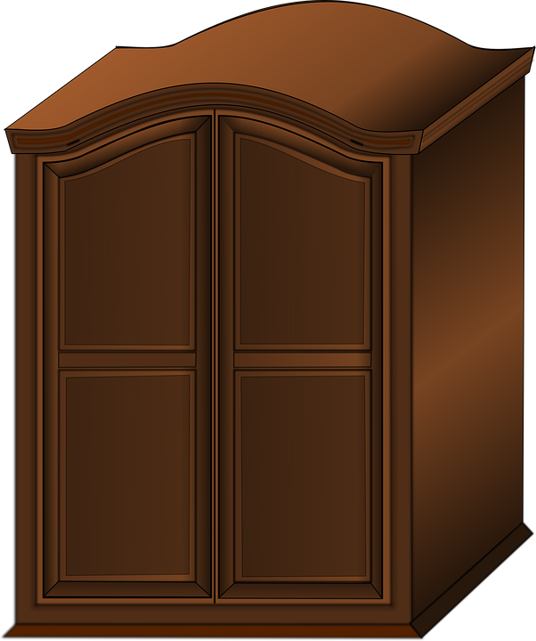 Free Vector Graphic Wardrobe Closet Furniture Wooden Free Image On Pixabay 157440