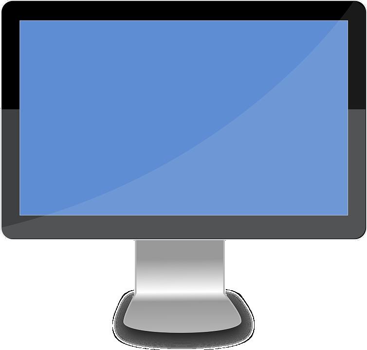 Ordinateur de bureau lcd images vectorielles gratuites - Recherche ordinateur de bureau ...